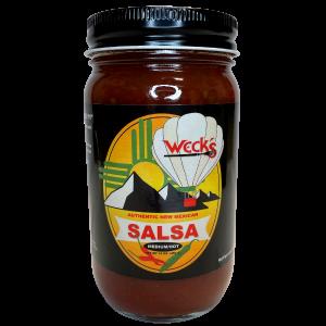 jar of wecks salsa