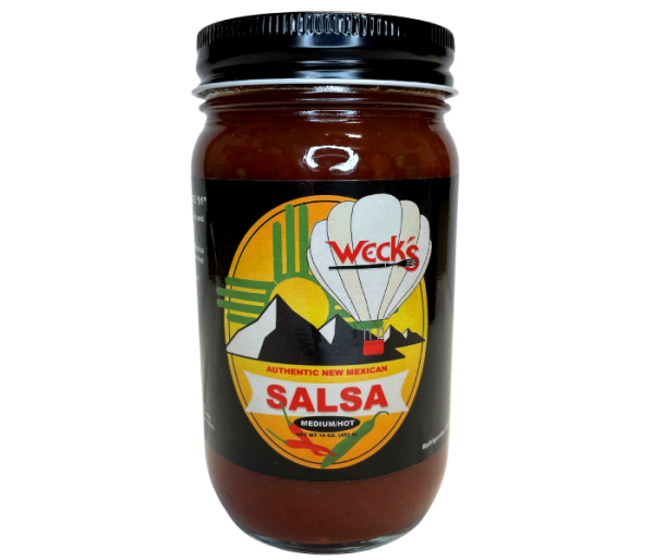 jar of wecks salsa