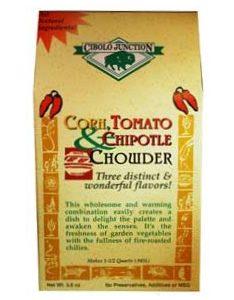 corn tomato and chipotle powder