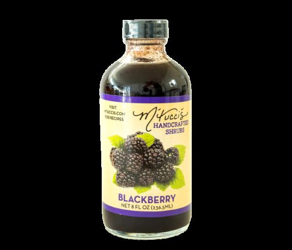 mtucci's shrub mix blackberry flavor