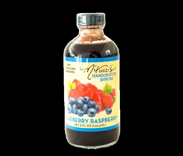mtucci's shrub mix blueberry rasberry flavor