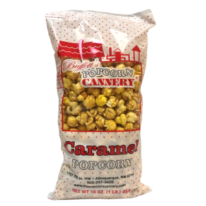 bag of caramel corn