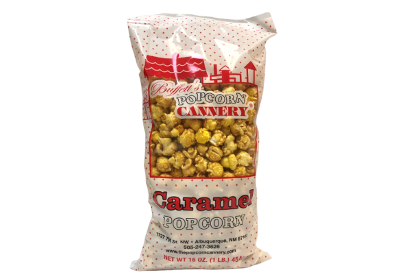 bag of caramel corn