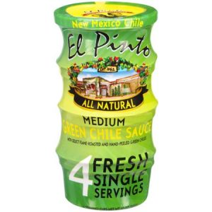 el pinto single serve green chile sauce