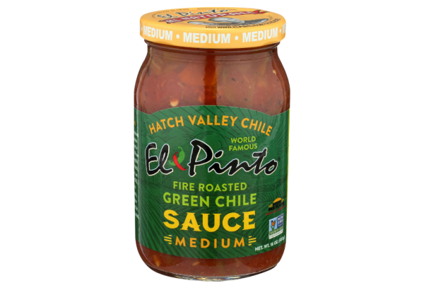 el pinto medium green chile sauce