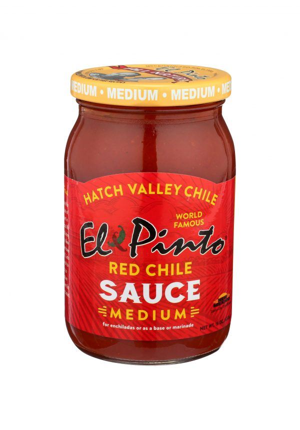 el pinto restaurant fire roasted new mexico red chile sauce