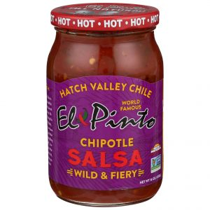 El Pinto Wild & Fiery Chipotle New Mexico Salsa