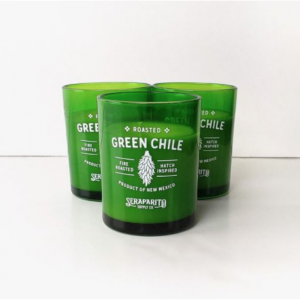 green chile candle