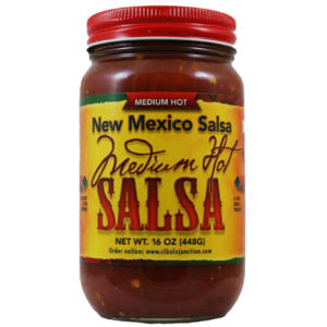 new mexico salsa company jar of salsa