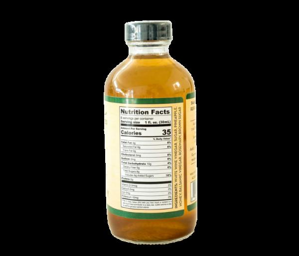 mtucci's shrub mix pineapple rosemary flavor