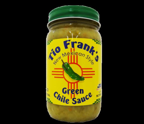 tio frank's green chile sauce