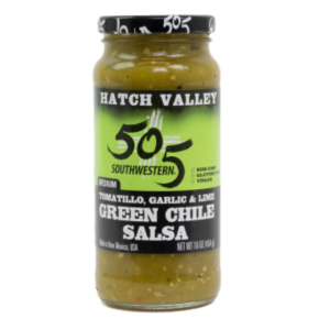 505 tomatillo green chile salsa