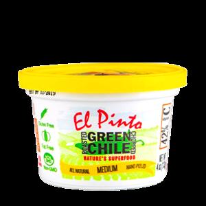 el pinto green chile portion cup