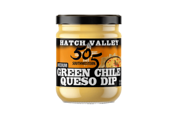 505 green chile queso dip