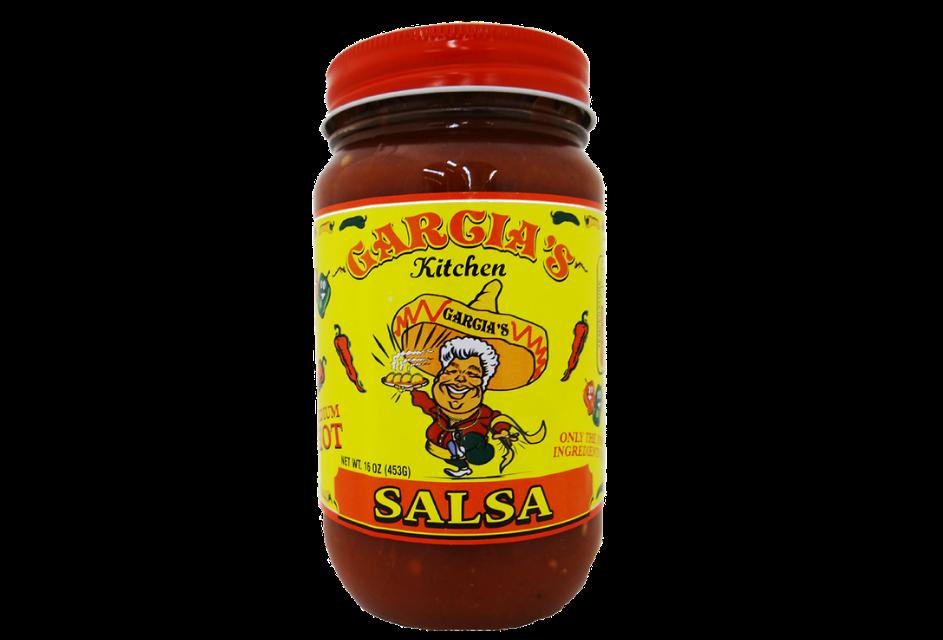 Garcia's Medium Salsa